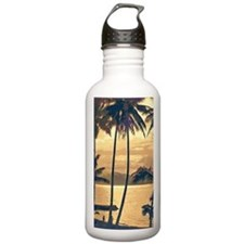 Tropical Silhouettes Sports Water Bottle