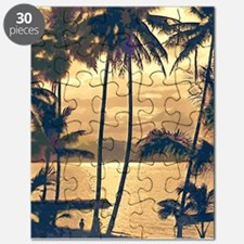 Tropical Silhouettes Puzzle