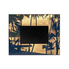 Tropical Silhouettes Picture Frame