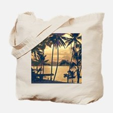 Tropical Silhouettes Tote Bag