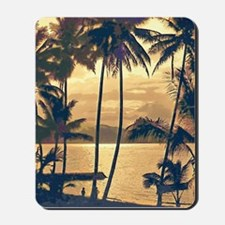 Tropical Silhouettes Mousepad