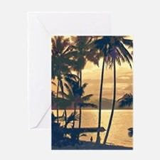 Tropical Silhouettes Greeting Card