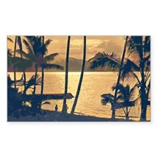 Tropical Silhouettes Decal