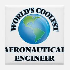 Aeronautical Engineer Tile Coaster