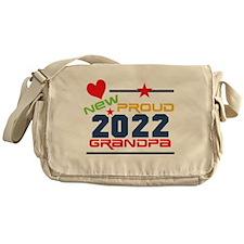 2015 Proud New Grandpa Messenger Bag