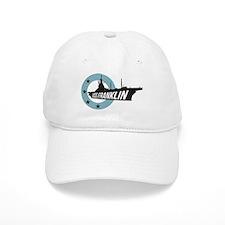 USS Franklin 4 Baseball Baseball Cap