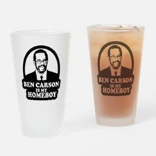 Ben Carson Homeboy Drinking Glass