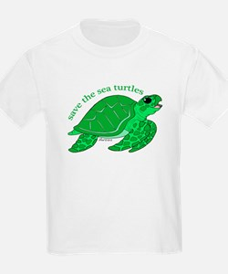 Green Turtle T-Shirt