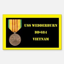 USS Wedderburn Decal