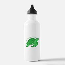 Green Turtle Water Bottle