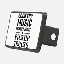Country Music, Cowboy Boots & Pickup Trucks Hitch