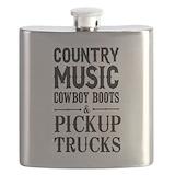 Cowboy Flask Bottles
