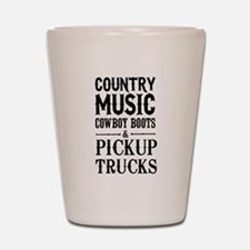 Country Music, Cowboy Boots & Pickup Trucks Shot G