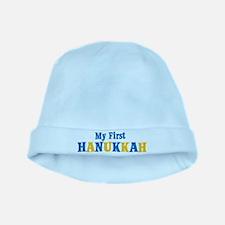 My First Hanukkah baby hat