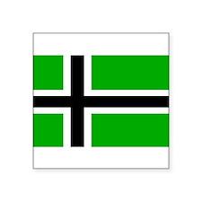 """Unique Heathen Square Sticker 3"""" x 3"""""""