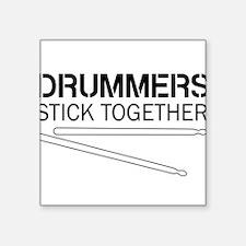 Drummers Stick Together Sticker