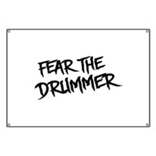 Fear the Drummer Banner