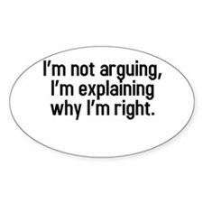 I'm not arguing Decal