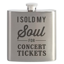 I Sold My Soul for Concert Tickets Flask