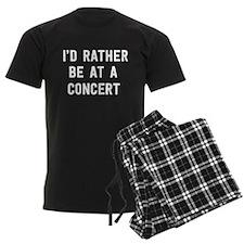 I'd Rather Be at a Concert Pajamas