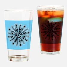 Kayak Original Spiral Art Drinking Glass