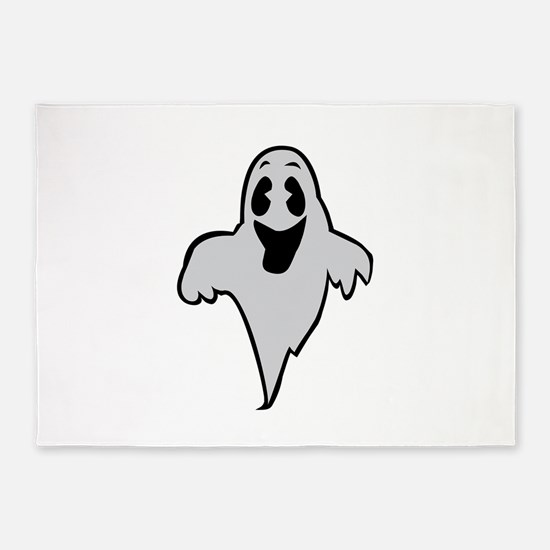 Happy Ghost 5'x7'Area Rug