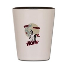 Who's Afraid of The Big Bad Wolf? Shot Glass