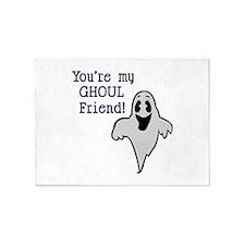 Ghoul Friend 5'x7'Area Rug