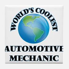 Automotive Mechanic Tile Coaster