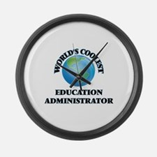 Education Administrator Large Wall Clock