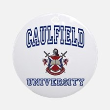 CAULFIELD University Ornament (Round)