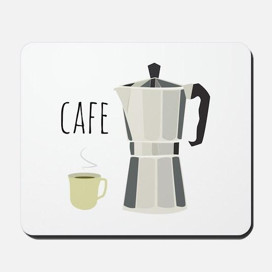 Cafe Pot Mousepad