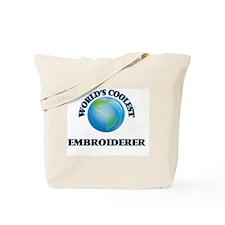 Embroiderer Tote Bag