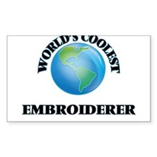 Embroiderer Decal