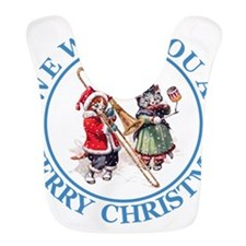 Christmas Cats 2 Blue copy.png Bib