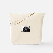 smoking monkey Tote Bag