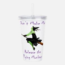 WITCH_Flying Monkeys 5.png Acrylic Double-wall Tum