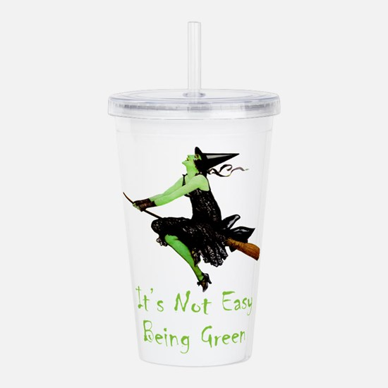 It's Not Easy Being Gr Acrylic Double-wall Tumbler