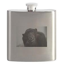 smoking monkey Flask