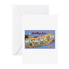 Washington DC Postcard Greeting Cards (Package of