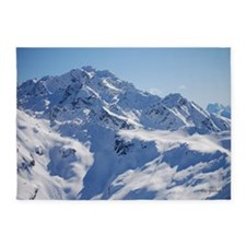 Snowy Peak 5'x7'Area Rug