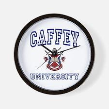 CAFFEY University Wall Clock
