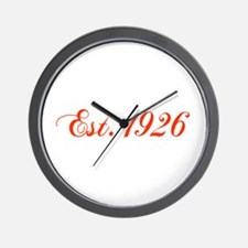 Cute Born 83 Wall Clock