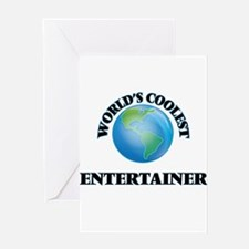 Entertainer Greeting Cards