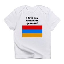 I Love My Armenian Grandpa Infant T-Shirt