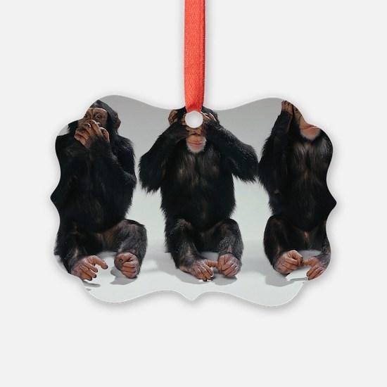 monkeys Ornament