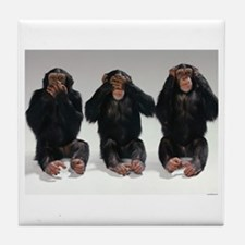 monkeys Tile Coaster