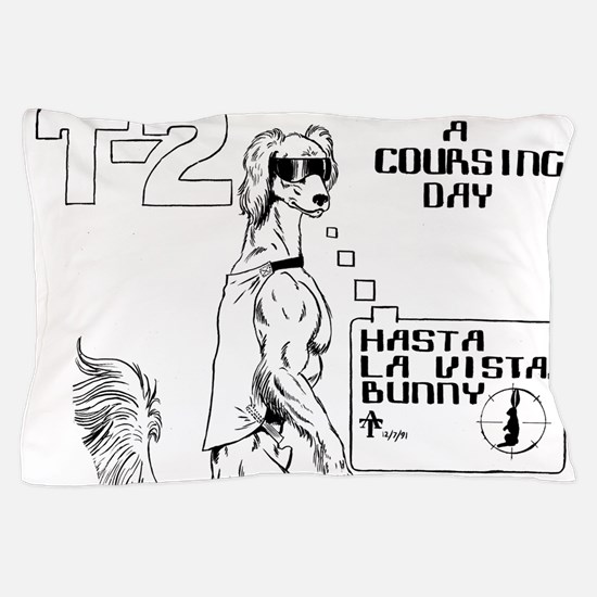 T2 A Coursing Day! Pillow Case