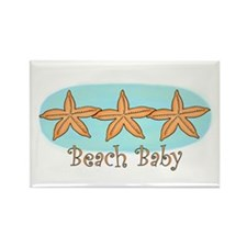 Beach baby Rectangle Magnet