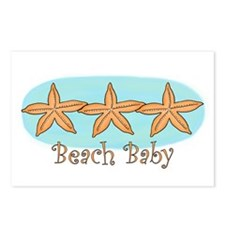 Beach baby Postcards (Package of 8)